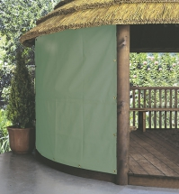 Full canvas panel in green